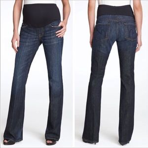 COH Blue 'Kelly' Maternity Bootcut Jeans 28